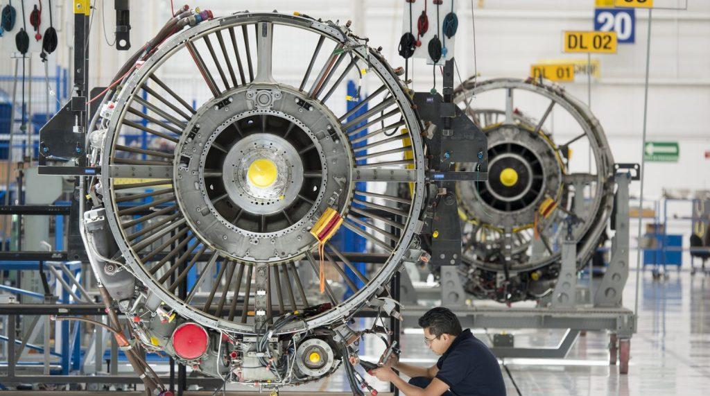 Construction site of Safran Aircraf Engines in Querétaro