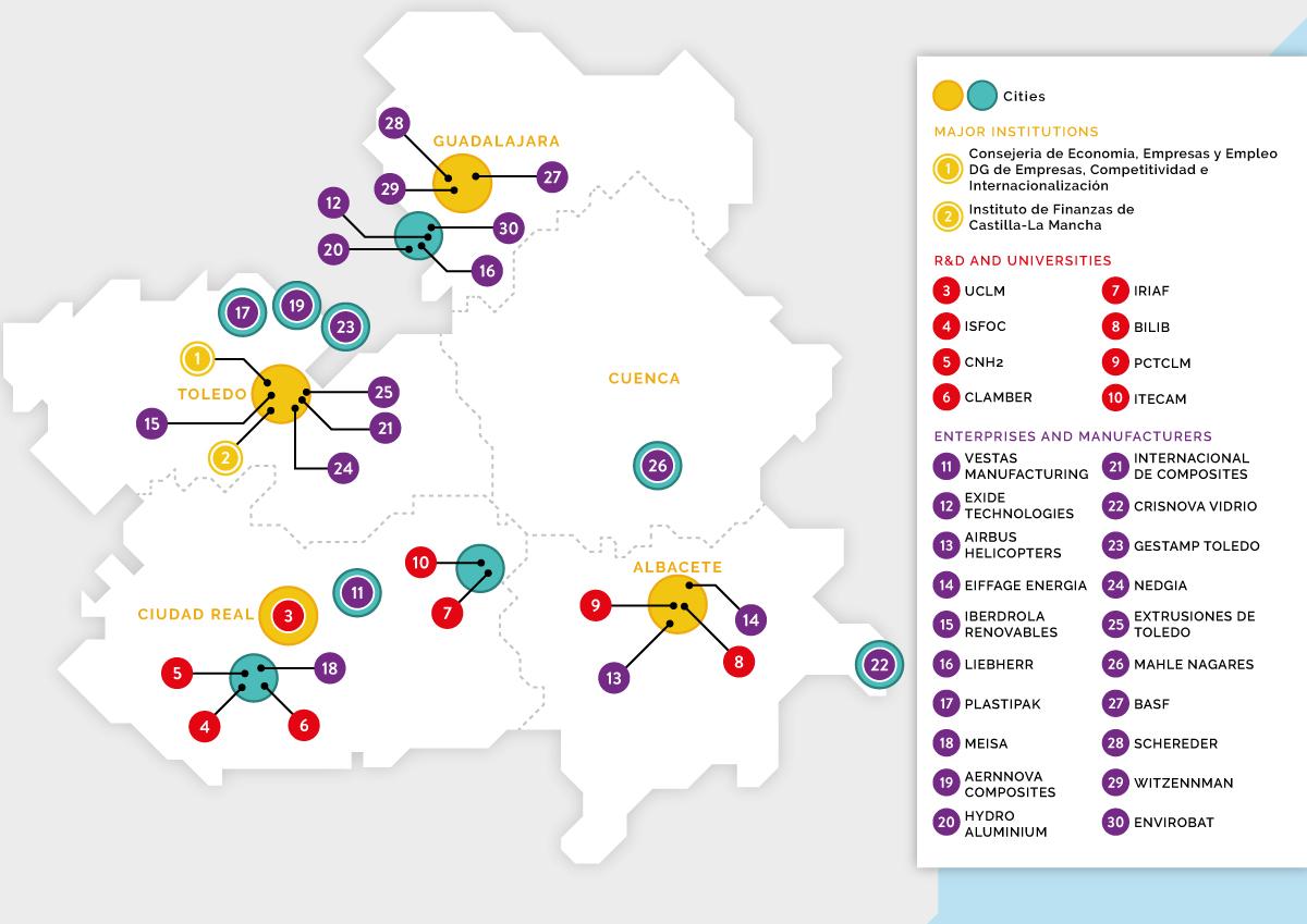 Castilla La Mancha Network